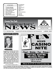 Newsletter - April 2010