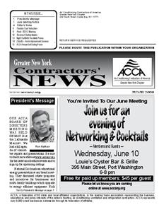 Newsletter - JUNE 2009