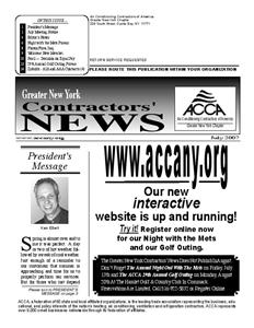Newsletter - July 2007