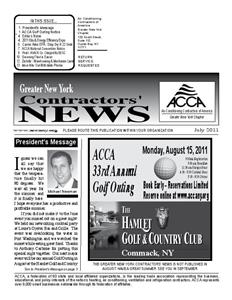 Newsletter - July 2011
