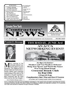 Newsletter - June 2010