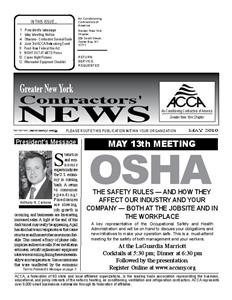 Newsletter - May 2010