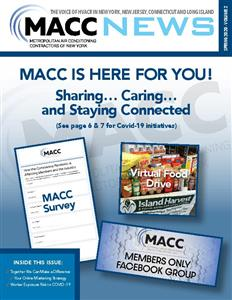 MACC News Spring 2020 Vol 2