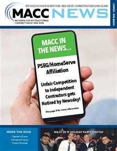 MACC News Winter 2020 Vol 1