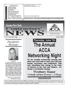 Newsletter - June 2007