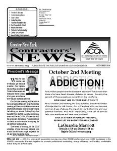 Newsletter - October 2014