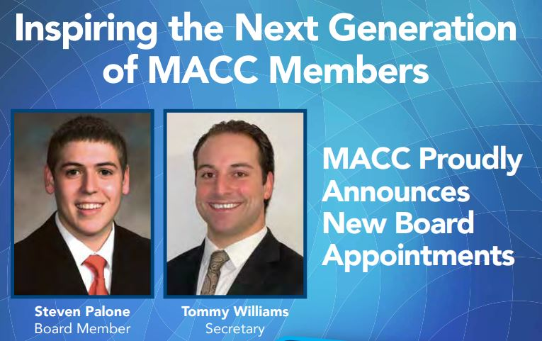 MACC Proudly Announces Two New Board Appointments: Tommy Williams and Steven Palone
