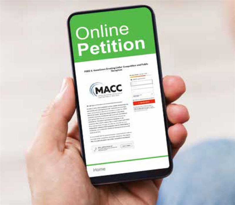 Join MACC & Help Make A Difference in Our Industry!
