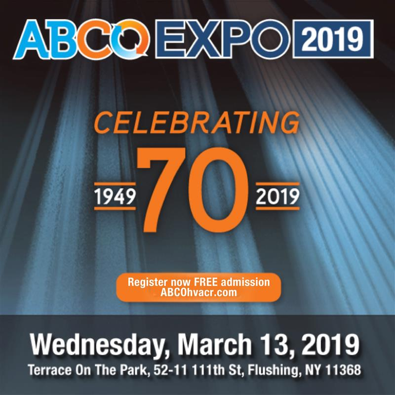 ABCO EXPO 2019 - March 13th